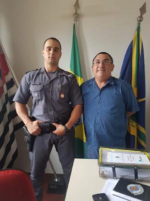 Sargento Lucas Roberto Paneque é o novo comandante da PM de Cajobi