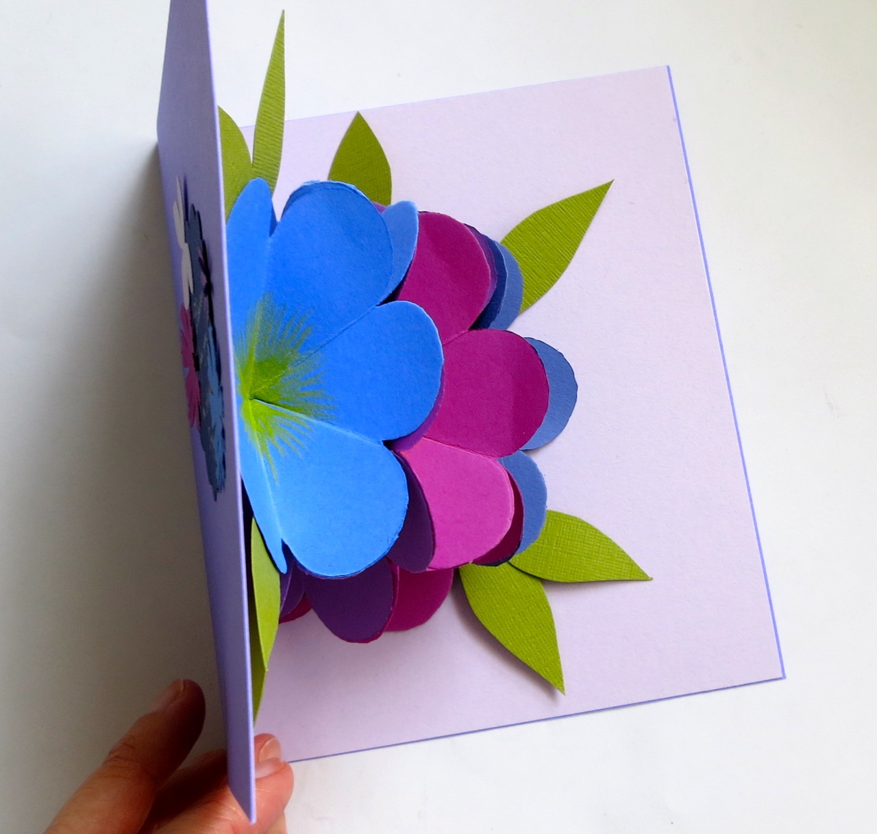 Img0109g mmmcrafts made it ms pop up flower card teacher day kristyandbryce Image collections
