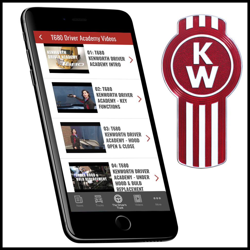 DuncanPutman com Blog: Kenworth Essentials App Features T680