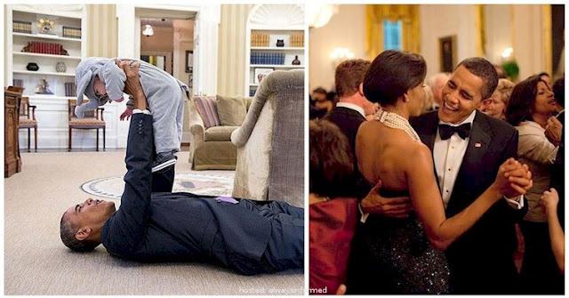 Obama, moments