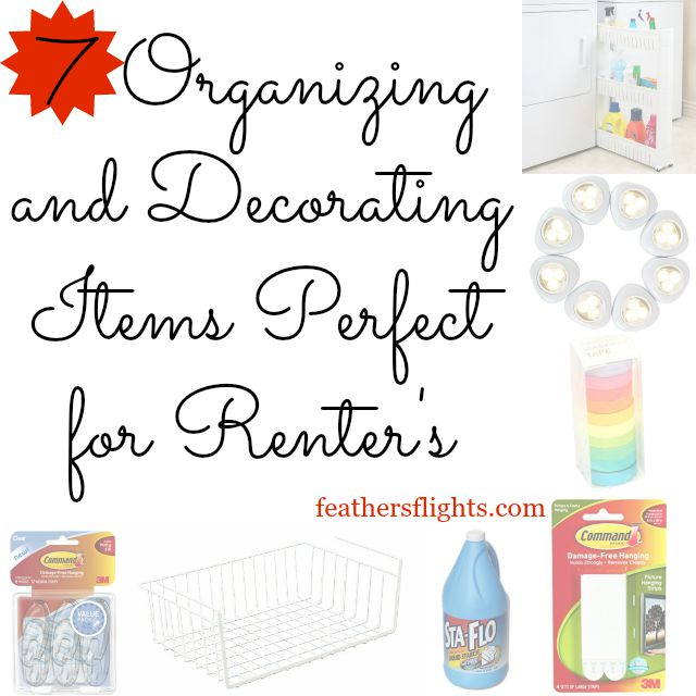7 Organizing and Decorating Items Perfect for Renters