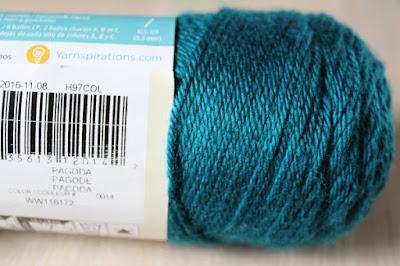crafts, crochet, yarn, WIP, Simply Soft, Pagoda