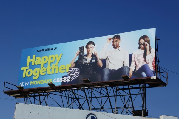 Happy Together series launch billboard