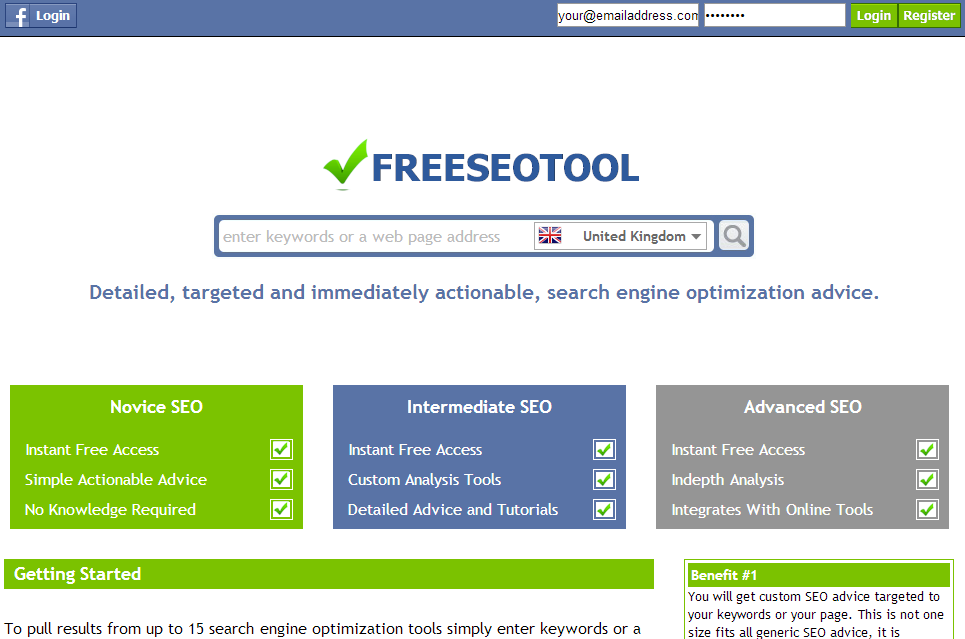 40 Free Online Tools For Seo – Web Knowledge Free