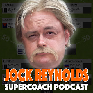 Jock Reynolds Supercoach Podcast