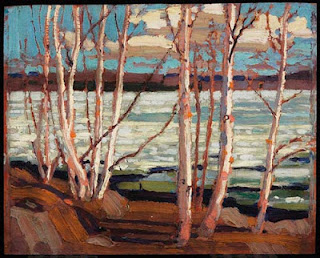 Tom Thomson painting - Early Spring