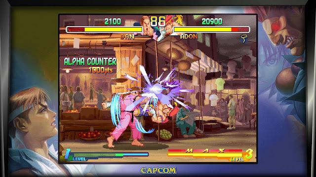 Street Fighter 30th Anniversary Collection - Street Fighter Alpha 2 - Dan VS Adon