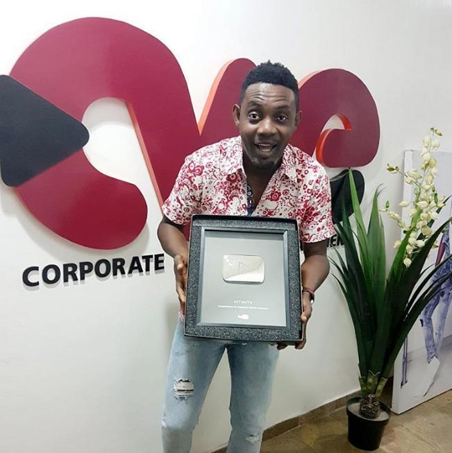 Youtube endorses comedian AY after bagging 100k subscribers