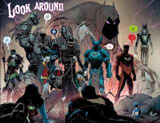 Dark Nights Metal - All The Batmen