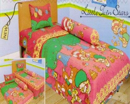 Sprei internal motif Little Twins Stars