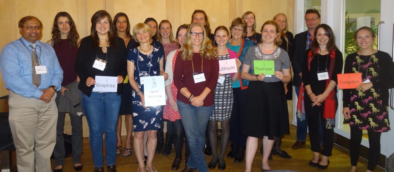 MEI Blog: Women in Mining (UK) speed mentoring event