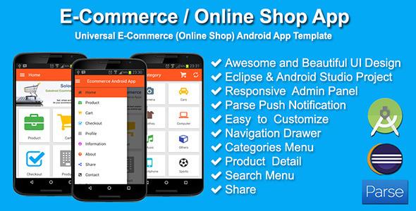 Source Code Application E-Commerce / Online Shop Android Studio