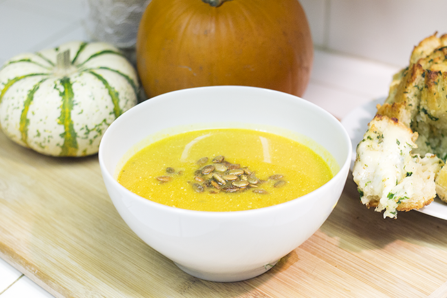Panera Copycat Autumn Pumpkin-Squash Soup