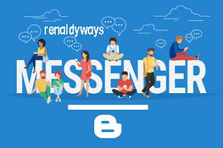 Cara Membuat Widget Messenger Facebook Di Blog