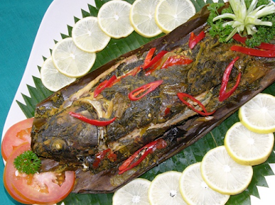 Pepes Ikan Duri Lunak