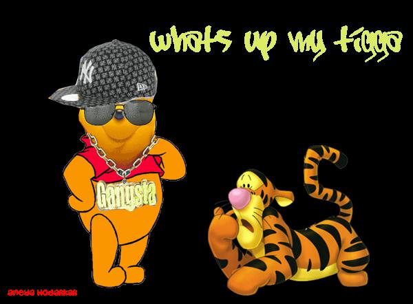 Dr. Dark's Blog: Gangsta Pooh