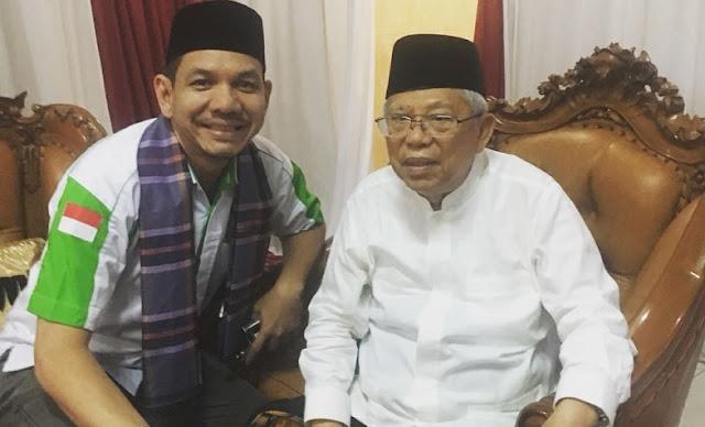 Menghadap KH Ma'ruf Amin, Ketum Pemuda Minang Setuju Islam Nusantara