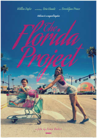 The Florida Project 2017 DVDScr 350MB English 480p Watch Online Full movie Download bolly4u