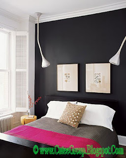 Cool Living: Elegant B/W Bedrooms