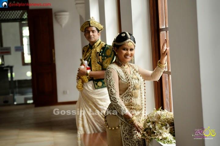 Lankan Actress Ishara Dewendras Wedding Sri Lankan