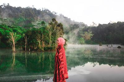 Danau Hijau di Ngarip Ulubelu