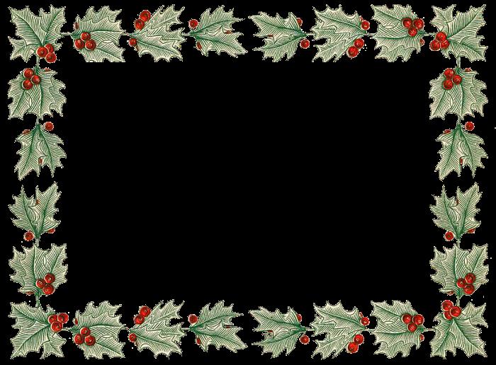 30 ventanas y marcos vintage para navidad - Marcos transparentes ...