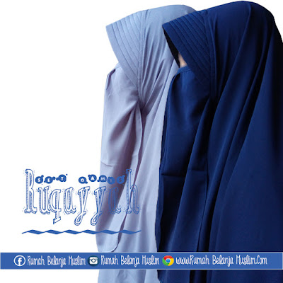 Jilbab Cadar Wolfis Ruqoyyah