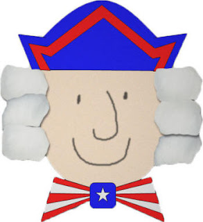 George Washington Cotton Ball and Paper Craft