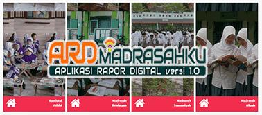 Surat Edaran Aplikasi Rapor Digital (ARD) Madrasah