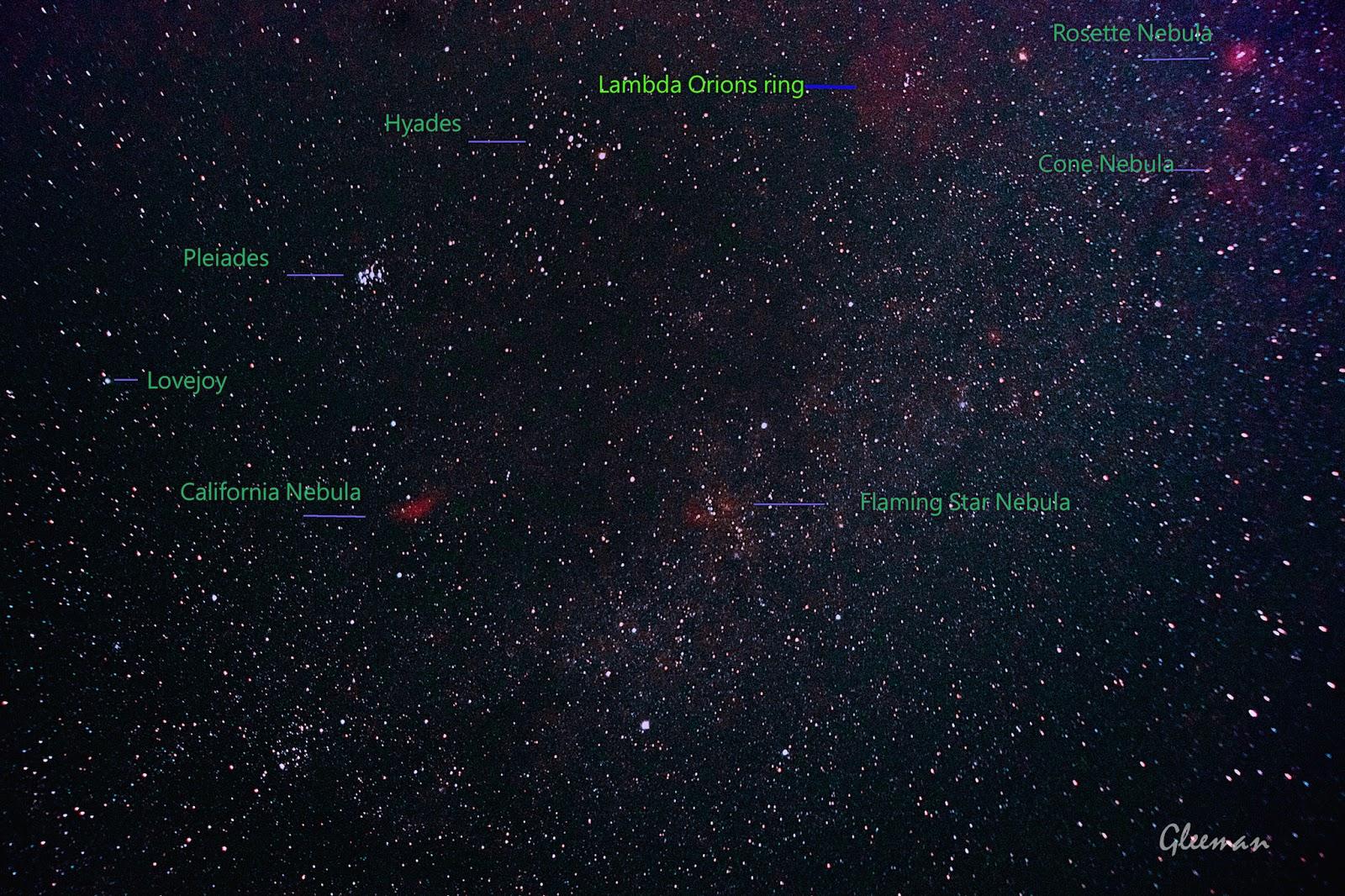 Comet Lovejoy/  Pentax k5, Tamron b001