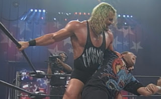 WCW Great American Bash 1999 - Van Hammer takes on Mikey Whipwreck