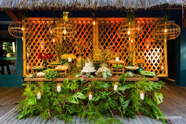 casamento no club med trancoso destination wedding na praia, mesa de bolo, guta gula