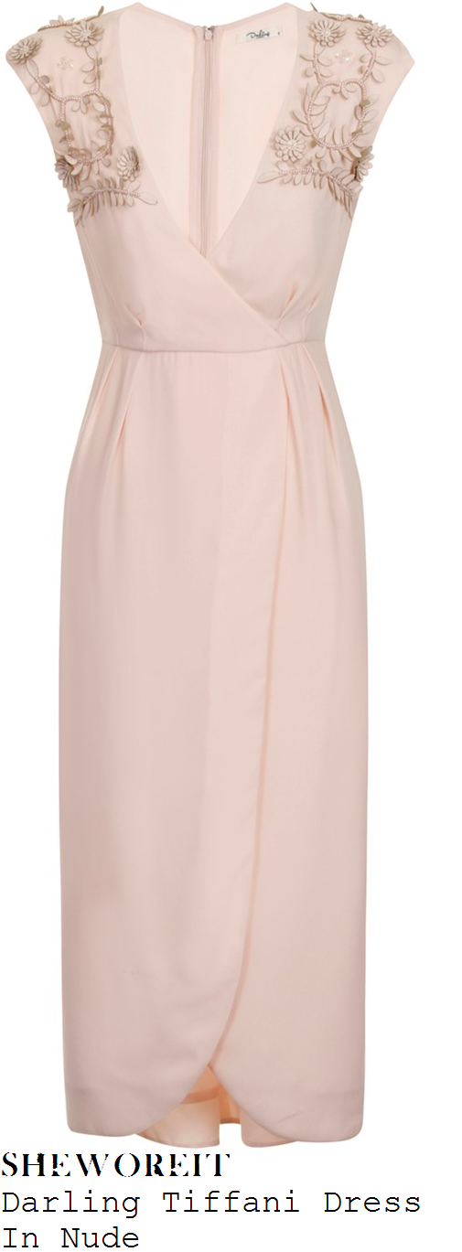 lydia-bright-darling-tiffani-nude-sleeveless-flower-embellished-wrap-front-midi-dress