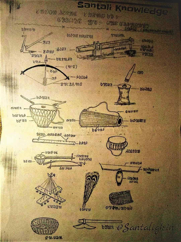 Santali Music Instruments Santali Traditions