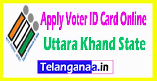 How to Apply Voter ID Card In Uttara Khand State