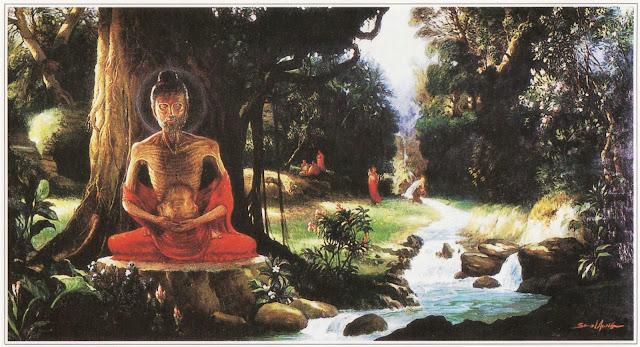 Đạo Phật Nguyên Thủy - Kinh Trung Bộ - 32. Đại kinh Rừng sừng bò
