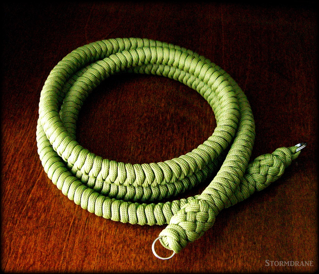 Stormdrane 39 s blog a paracord camera strap for What can you make out of paracord