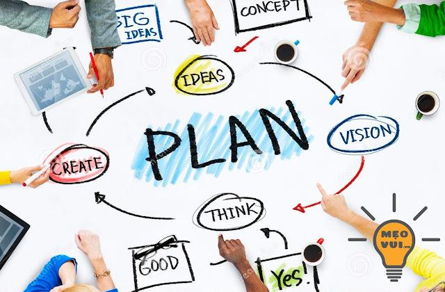 Lên kế hoạch, mục tiêu học tập hiệu quả