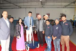AICTE Vice Chairman visits Bhartiya Skill Development University, Jaipur