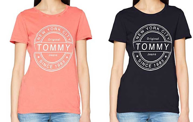 camisetas mujer tommy jeans