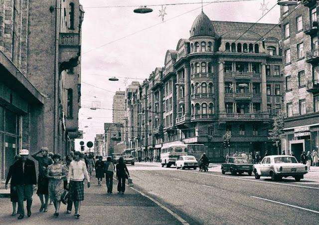 центральная улица риги