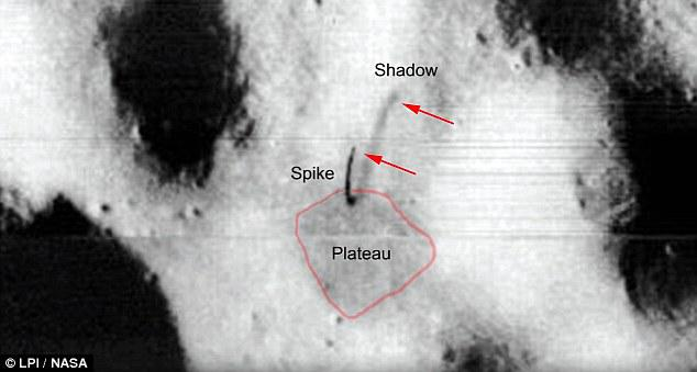 Finnish UFO Hunter Found A Bizarre 'Alien Antenna' On The Surface Of The Moon