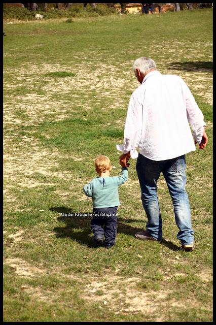 promenade avec papi