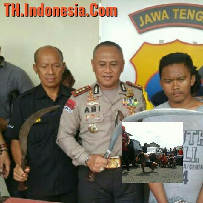 Genk Camp TT Tak Berkutik Saat Dibekuk Satpolrestabes Semarang