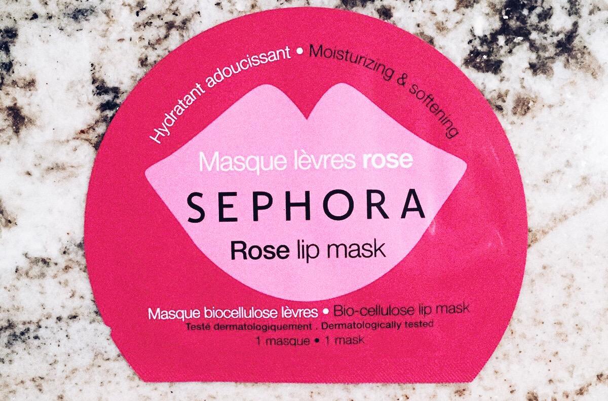 sephora masque lèvres avis test