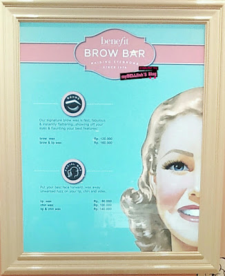 Harga Brow Wax di Benefit Brow Bar