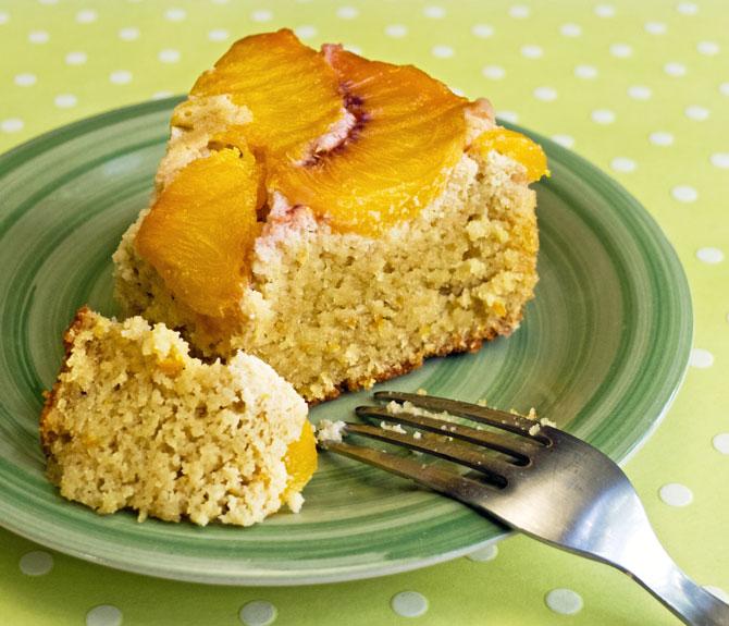 Peach Cake Gluten Free
