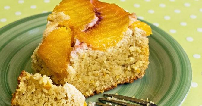 Peach Almond Cake Recipe