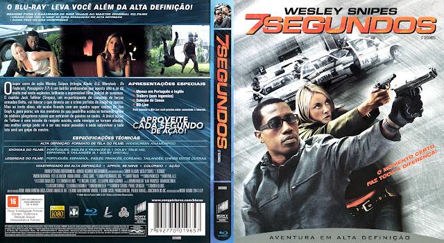 Capa Blu-ray 7 Segundos