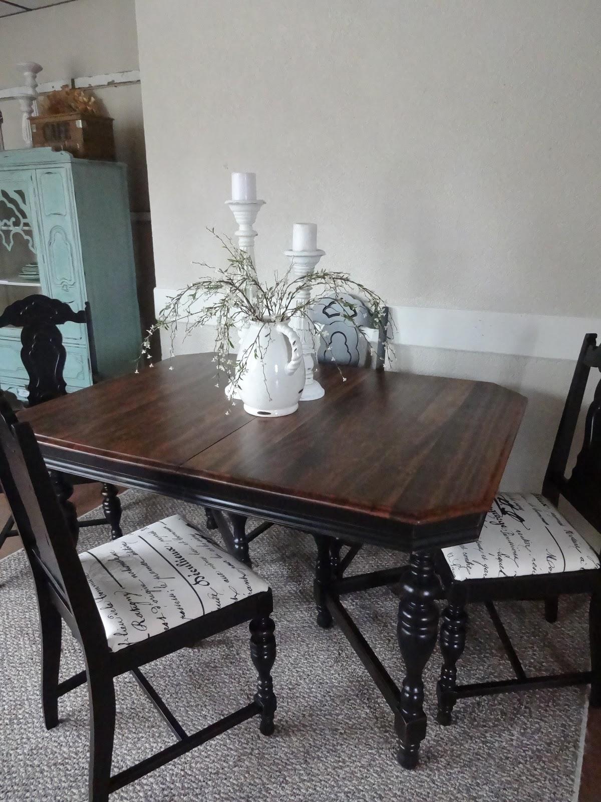 Antique Dining Room Set 5 P Furniture Renaissance Xvii Th: {createinspire}: Antique Table